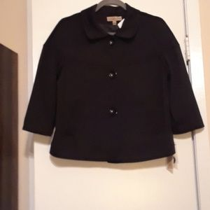 Notations cropped Jacket NWT